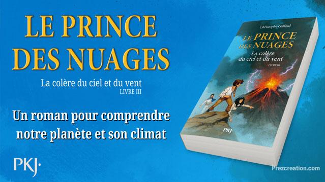 Une création et animation prezi qui devient une vidéo-teaser pour la promotion du livre « Le Prince des Nuages » (Edition Pocket Jeunesse).