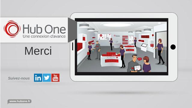 Etude et réalisation d'une Présentation Prezi à base d'illustration pour Hub One, filiale ADP.