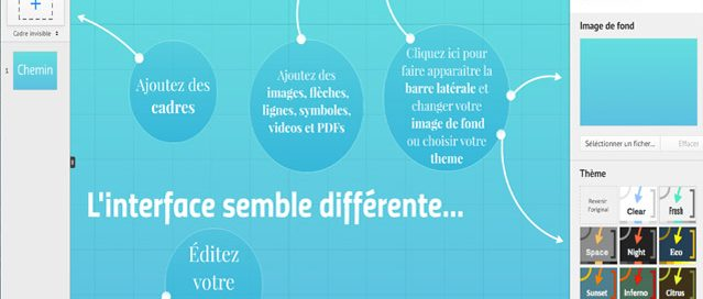 Nouvelle interface Prezi avec la version 5.2.3