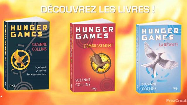 Nouveau trailer Hunger Games créé avec le logiciel Prezi