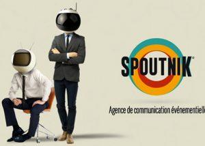 Production et création d'un Prezi pour l'agence de communication événementielle Spoutnik.