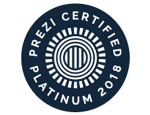 Prezcreation certifié Expert Platinium par Prezi.com